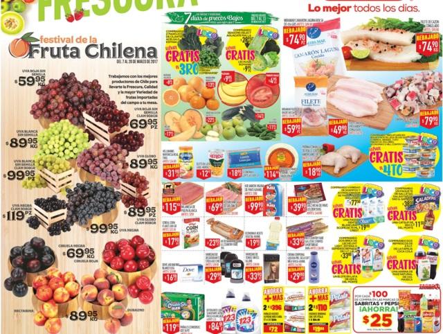 HEB: Tres Días de Frutas y Verduras del 7 al 9 de Marzo