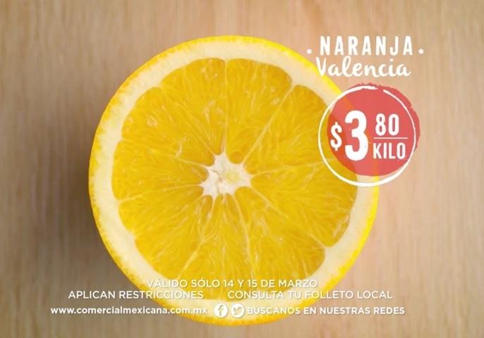 Comercial Mexicana: Frutas y Verduras del Campo 14 y 15 de Marzo