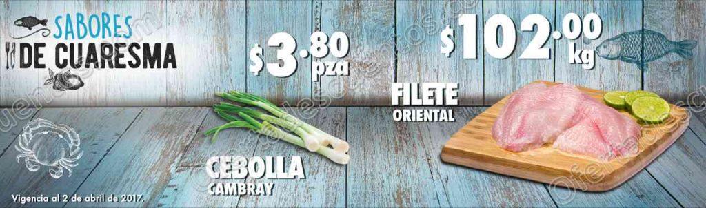 Comercial Mexicana: Ofertas de Cuaresma y Carnes del 31 de marzo al 2 de abril 2017