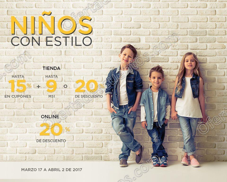 Palacio de Hierro: Niños con Estilo Hasta 20% de Descuento