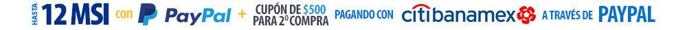 Walmart: Cupón de $500 en Compras Mínimas de $5,000 Pagando con PayPal y Citibanamex