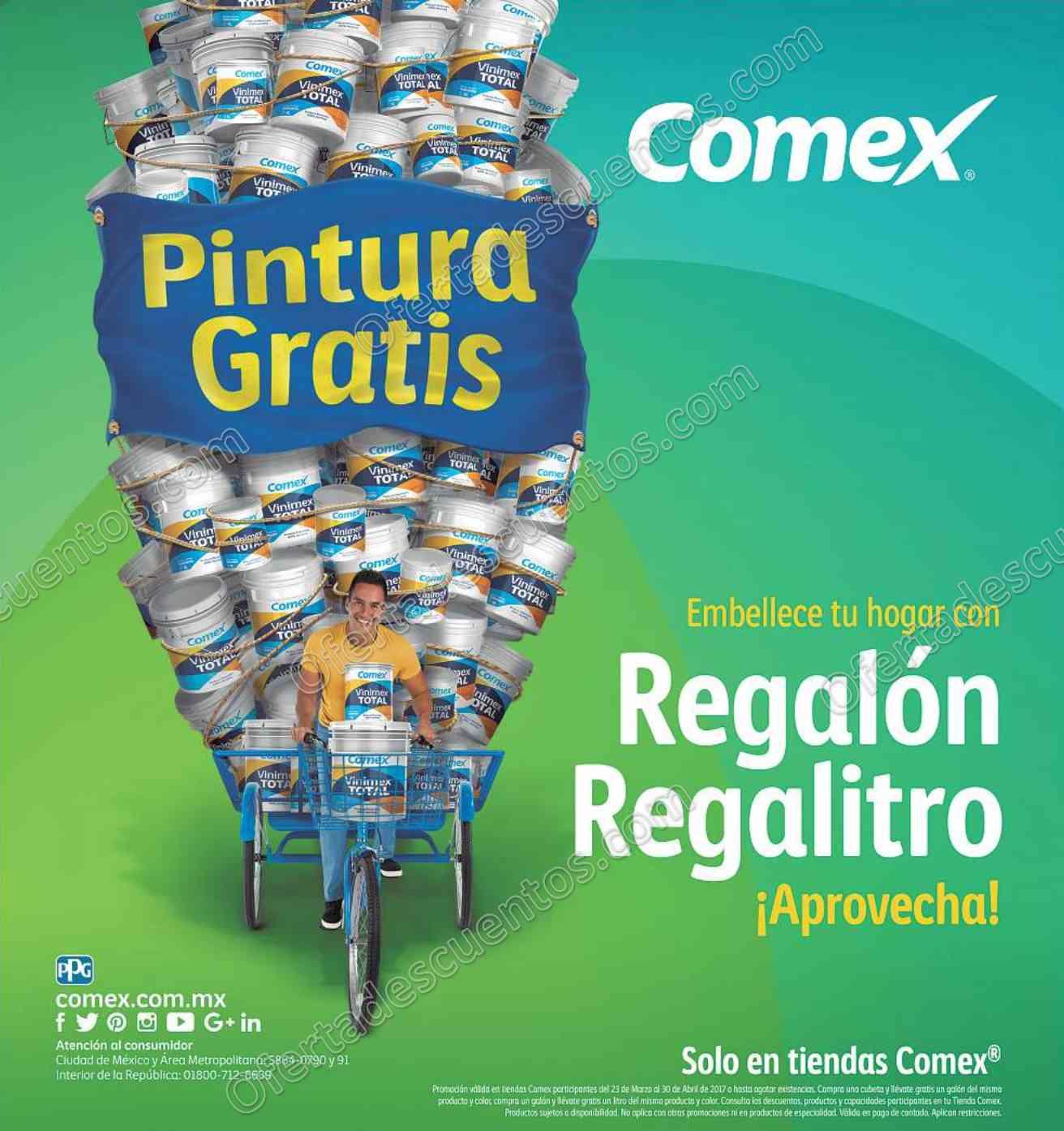 Comex: Regalón Regalitro 2017