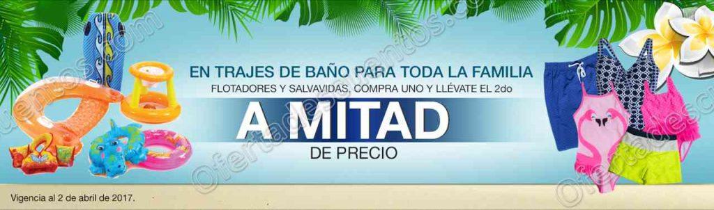 Comercial Mexicana: 50% de descuento en trajes de baño, salvavidas y más en segunda compra al 2 de abril