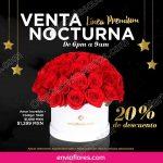 Venta Nocturna Envia Flores 15 de marzo OFFDE