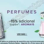 descuento perfumes linio OFFDE
