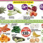 frutas y verduras Soriana 21 marzo OFFDE