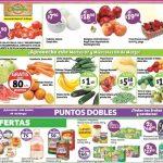frutas y verduras Soriana 7 y 8 marzo 2017