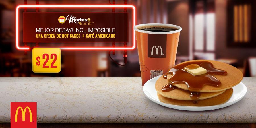 Martes de McDonald's 14 de Marzo