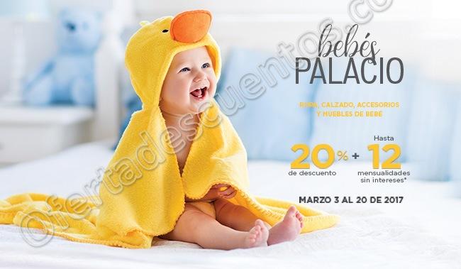 Palacio de Hierro: Quincena del Bebé hasta 20% de descuento más hasta 12 meses sin intereses en todo Bebés