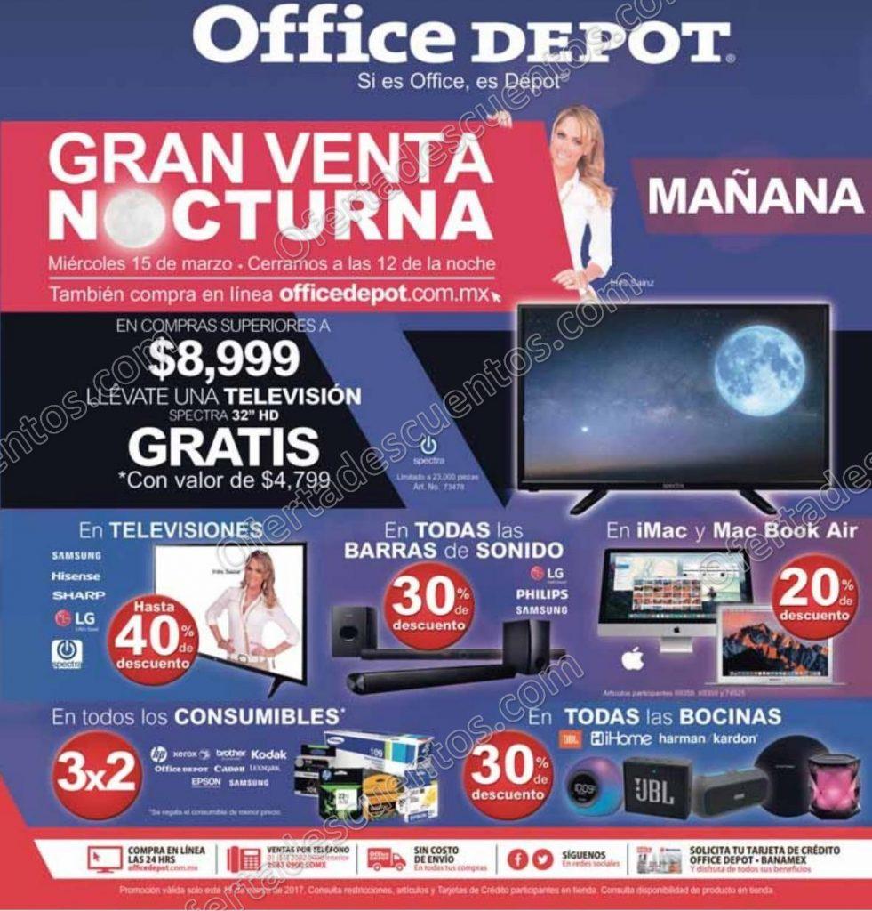 Venta Nocturna Office Depot 15 de Marzo 2017