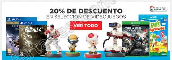 HEB: 20% de Descuento en Videojuegos Seleccionados