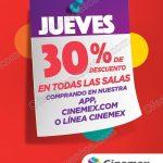 Cinemex descuento al comprar desde la app OFFDE