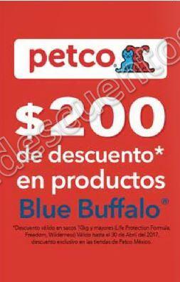 Petco: $200 de descuento en productos Blue Buffalo y más
