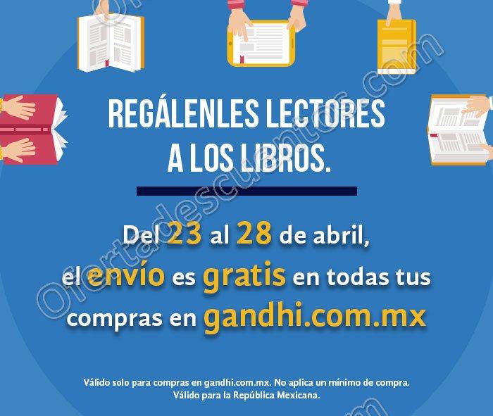 Gandhi: Envíos Gratis a toda la República Mexicana del 23 al 28 de Abril y más promociones