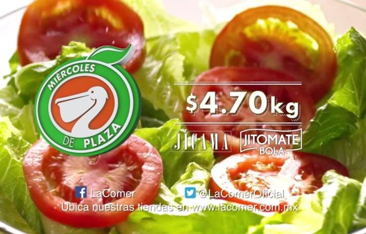 Frutas y Verduras Miércoles de Plaza La Comer 5 de Abril 2017