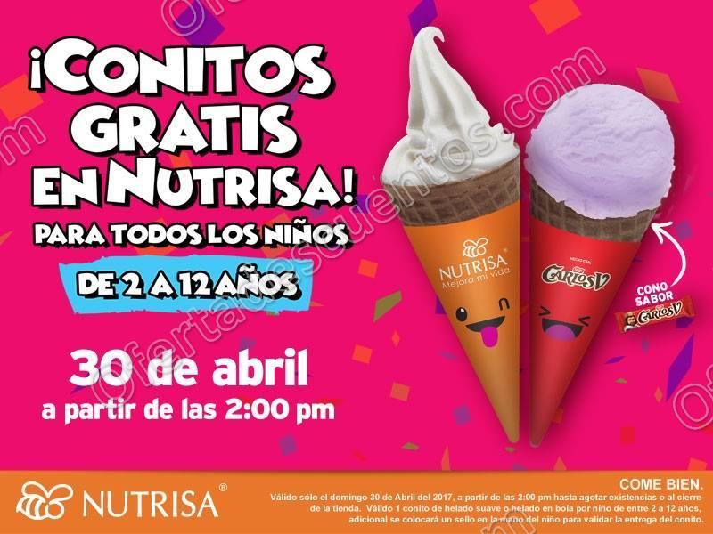 Nutrisa: Promoción Día del Niño Conito Gratis a Todos los Niños este 30 de Abril