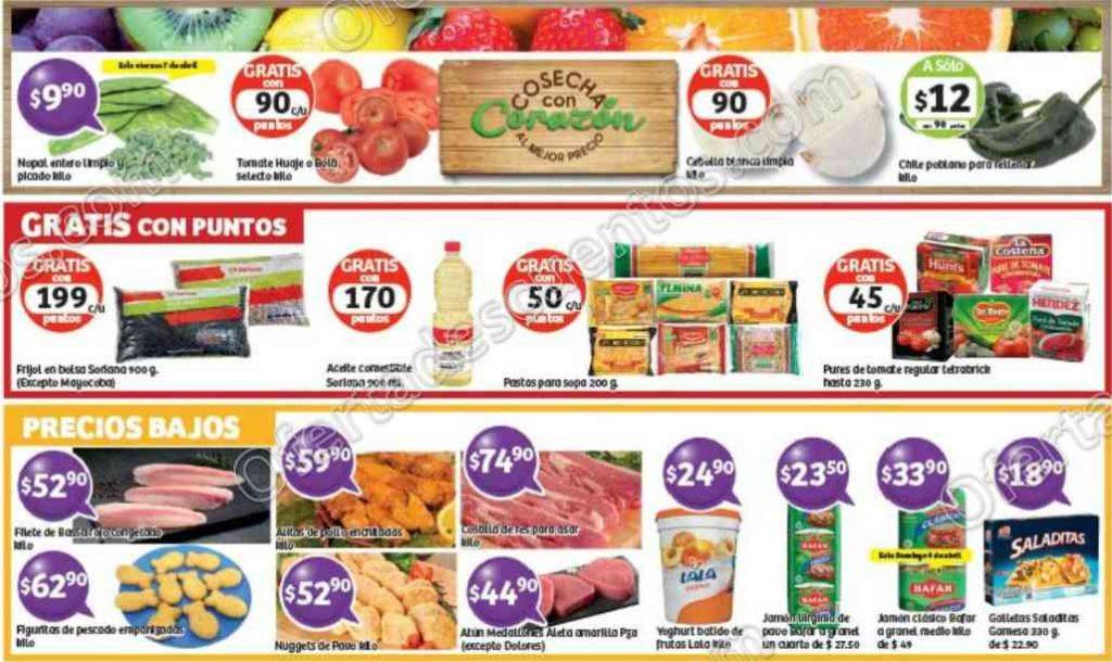Soriana: Promociones en pescados, frutas y verduras del 7 al 10 de Abril
