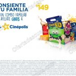 combo familiar cinepolis 2017 OFFDE