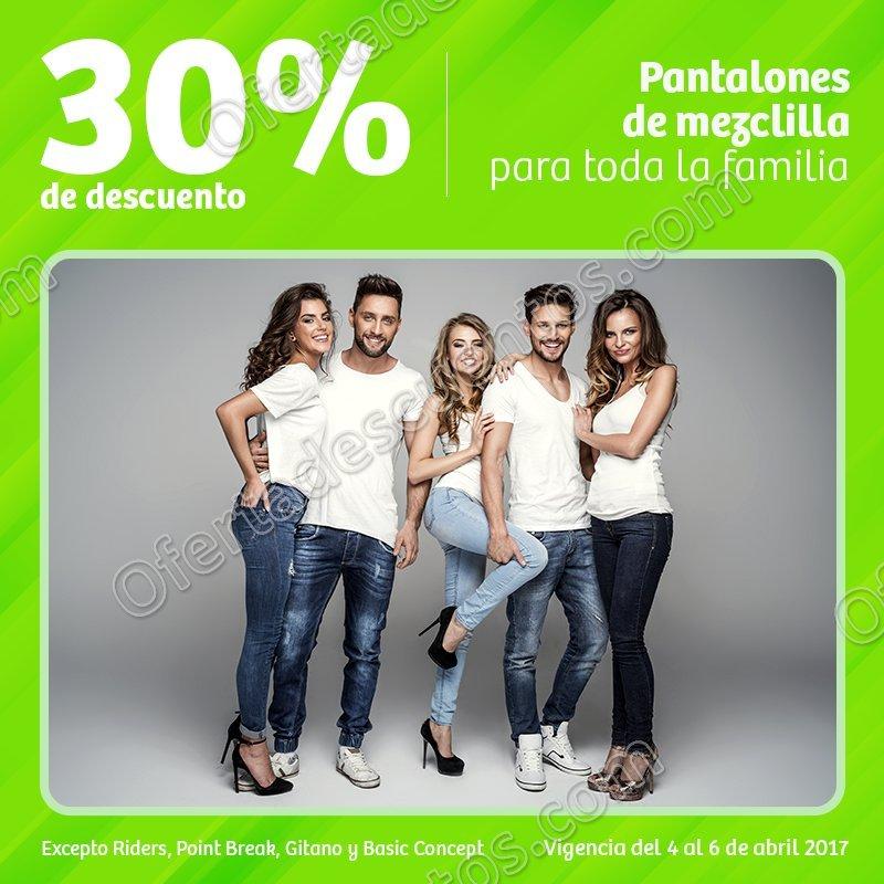Soriana: 30% de descuento en Jeans para toda la familia y más del 4 al 6 de Abril