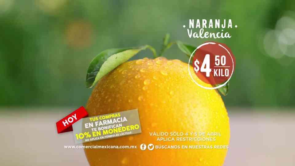 Comercial Mexicana: Martes y Miércoles del Campo 4 y 5 de Abril 2017