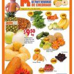 frutas y verduras chedraui 25 abril 1 2017