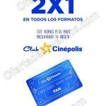 2x1 en todos los formatos presentando tu tarjetas fan cinepolis 19 de mayo 2017 OFFDE