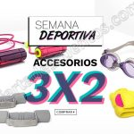 3x2 en accesorios deportivos OFFDE