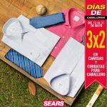 3x2 en camisas sears OFFDE