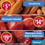 Frutas y verduras Martes de frescura Walmart 30 de mayo OFFDE