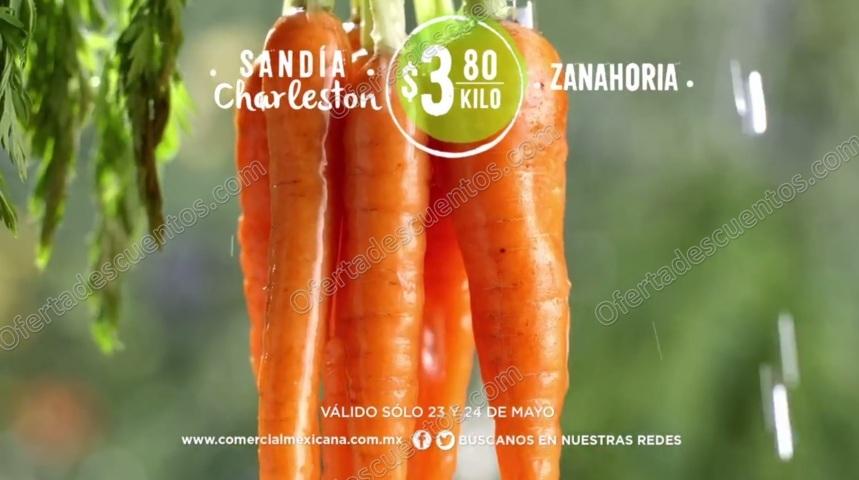 Comercial Mexicana: Frutas y Verduras del Campo 23 y 24 de Mayo 2017