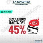 Hot Sale 2017 en La Europea promociones OFFDE