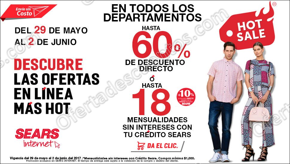 Promociones Hot Sale 2017 Sears