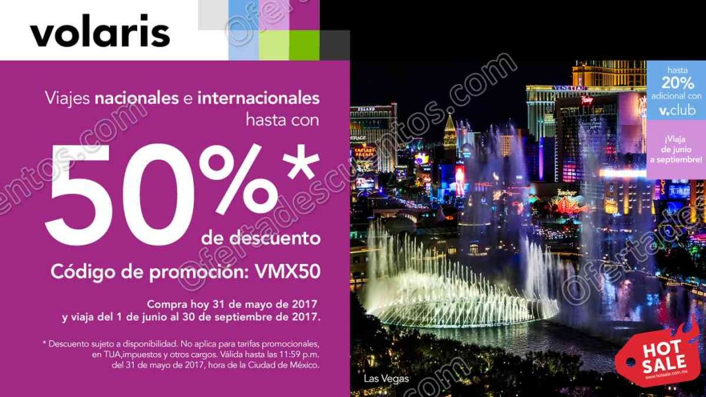 Promociones Hot Sale 2017 Volaris