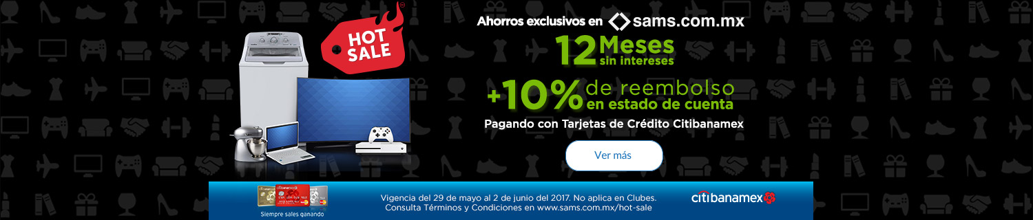 Promociones Hot Sale Sam's Club 2017