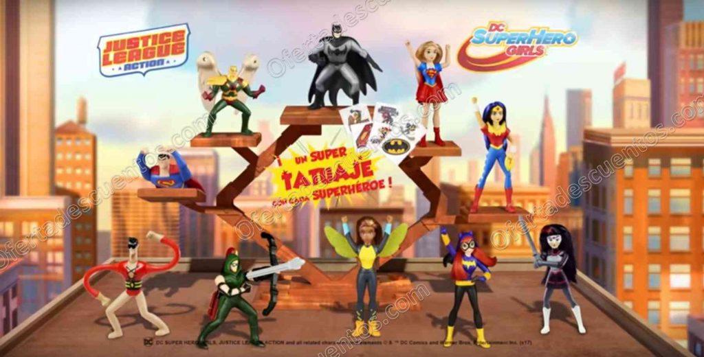 McDonald's: Nueva Cajita Feliz Superhéroes Liga de la Justicia
