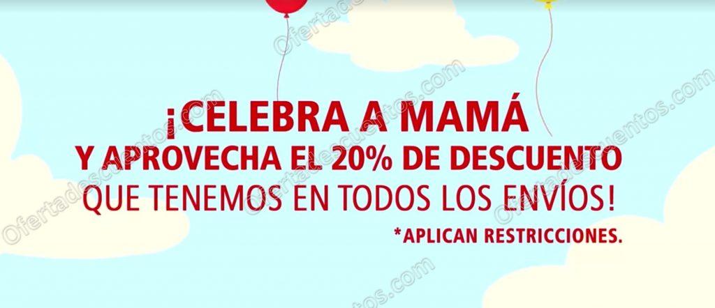 DHL: Promoción Día de las Madres 20% de descuento en Envíos del 4 al 10 de Mayo