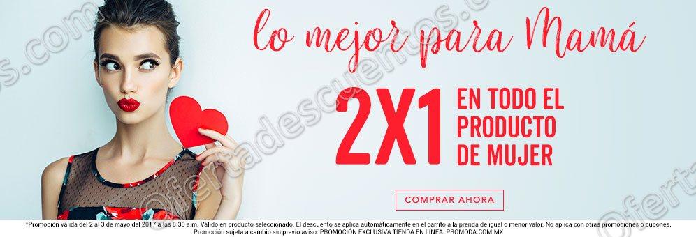 Promoda: 2×1 en todo el producto de Mujer sólo 2 y 3 de Mayo