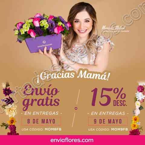 EnvíaFlores: Promociones Día de las Madres Envío Gratis esta semana y más