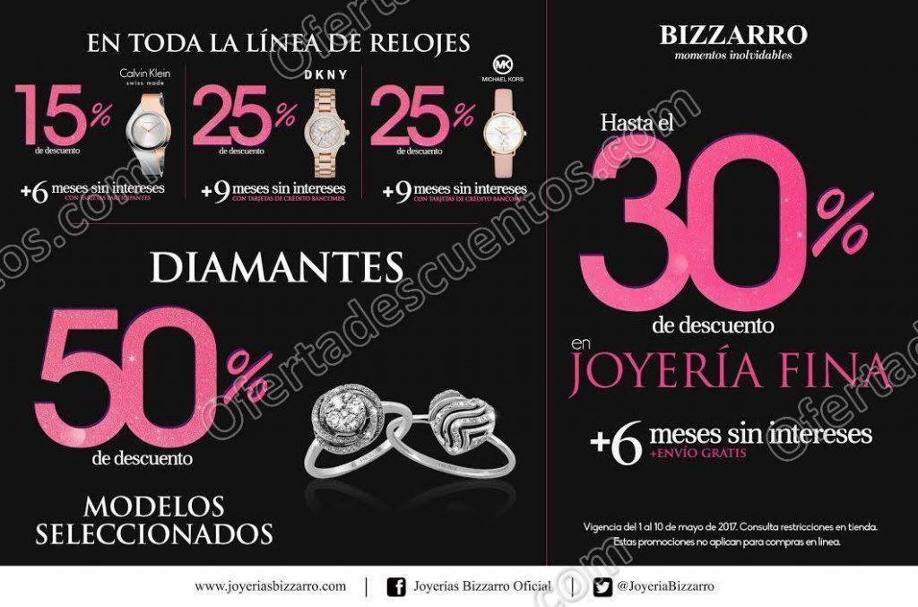 Bizzarro: Promociones Día de las Madres del 1 al 10 de Mayo 2017