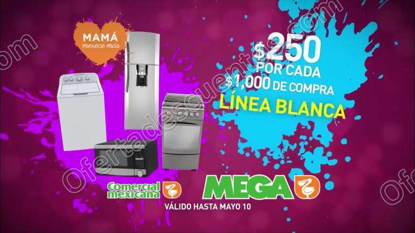 Comercial Mexicana: Promociones Día de las Madres del 5 al 10 de Mayo 2017