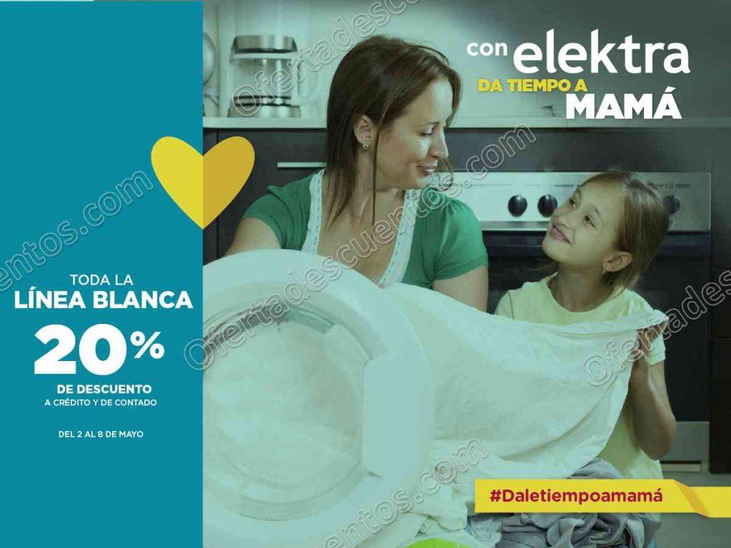 Elektra: 20% de descuento en toda la Línea Blanca del 2 al 8 de Mayo 2017