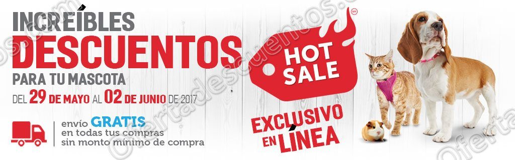 Promociones Hot Sale 2017 Petco