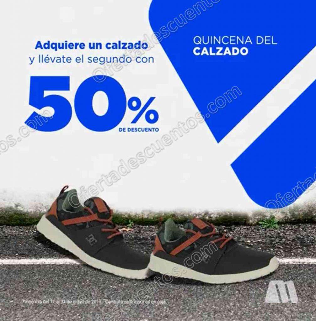 Martí: Quincena del Calzado 50% de Descuento en Segunda Compra