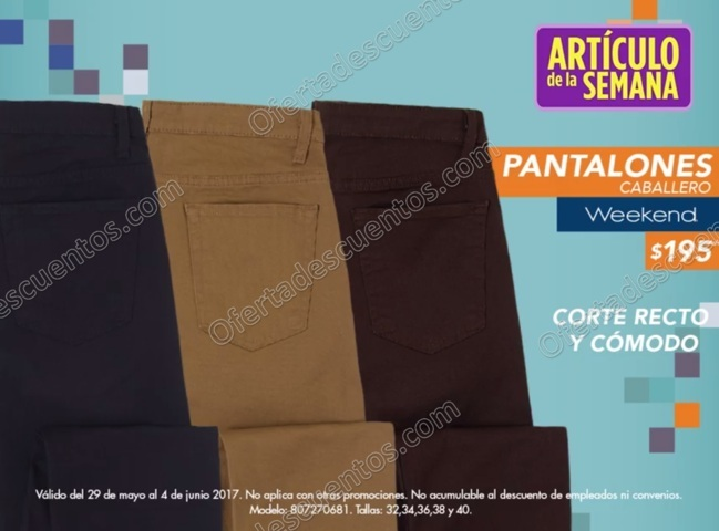 Suburbia Articulo De La Semana Pantalones Para Caballero Del 29 De Mayo Al 4 De Junio 2017