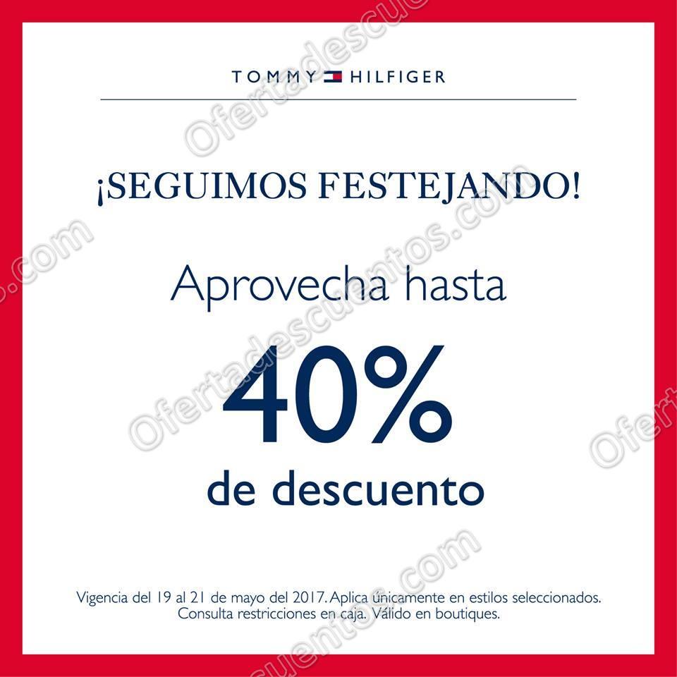 Tommy Hilfiger: Venta Especial hasta 40% de descuento en toda la Tienda y más del 19 al 21 de Mayo