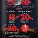 Venta nocturna Sanbonrs 5 y 6 de mayo OFFDE