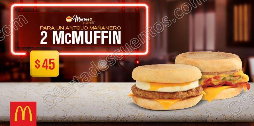 McDonald's: Cupones del Martes 16 de Mayo 2017
