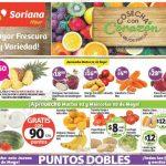frutas y verduras Soriana 2 y 3 mayo OFFDE
