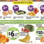 frutas y verduras Soriana 9 y 10 mayo OFFDE