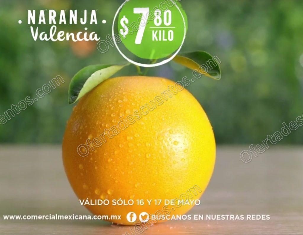 Comercial Mexicana: Frutas y Verduras del Campo 16 y 17 de Mayo 2017